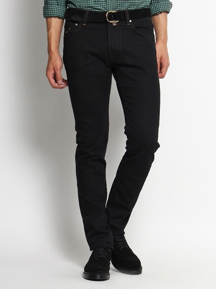 ヤコブコーエン(JACOB COHEN)のCotton Stretch Black Denim PANTS / パンツ