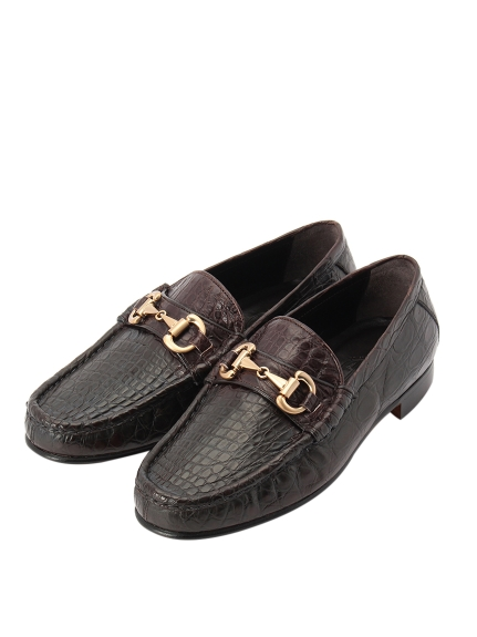 ピーマ(PMA)のCrocodile Bit Loafer SHOES / シューズ