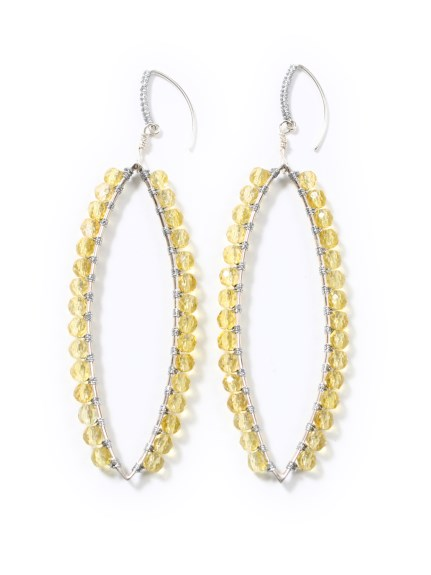 (Simon Alcantara)のLeaf Silver Yellow Sitrine ACCESSORIES / アクセサリー