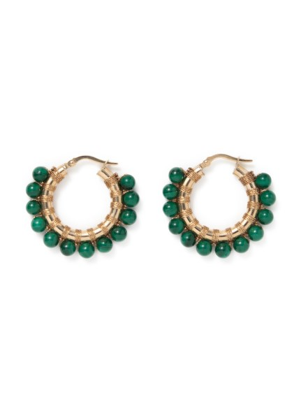 (Simon Alcantara)のYellow Gold-Malachite 20mm ACCESSORIES / アクセサリー